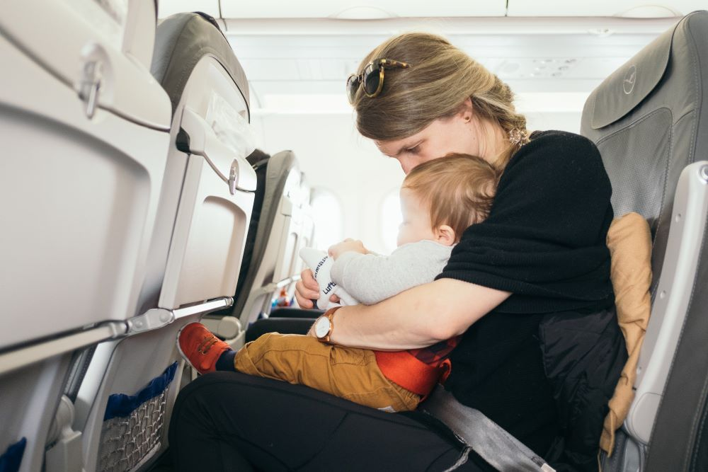 travelling with child