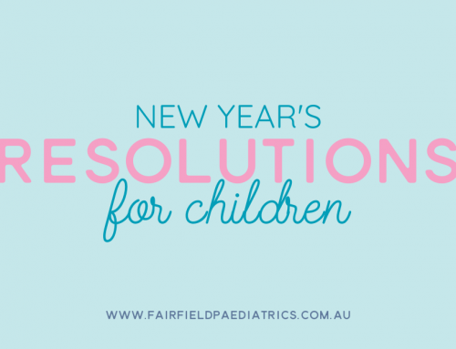 New Year's Resolutions for Children